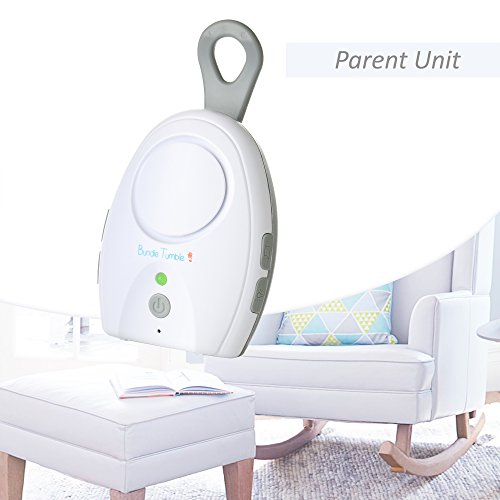 Bundle Tumble Taurus Safe & Sound Audio Baby Monitor with One Parent Unit -2.4Ghz Digital Audio Monitor with Convertible Belt Clip For Parent Unit -Includes 2 USB cable & Set of Rechargeable Batteries