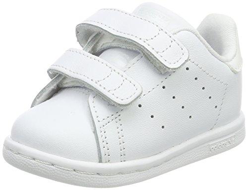 adidas Stan Smith CF I, Chaussures Premiers Pas Mixte Bébé Blanc (Footwear White)