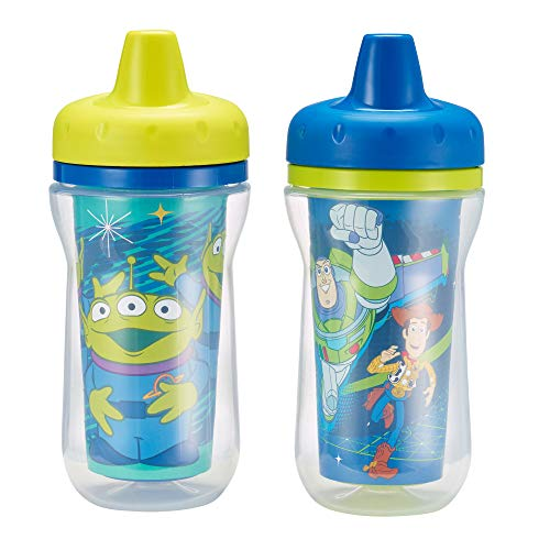 The First Years 2 Pack 9 Ounce Insulated Sippy Cup, Toy -
