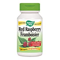 Nature's Way Red Raspberry Leaves Health Supplement, 100 Count