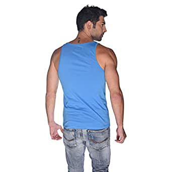Creo Chopers Tank Top For Men - Xl, Blue
