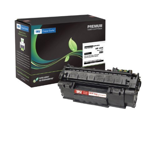 Premium Laser Printer MICR Toner Cartridge TROY Compatible Magnetic Ink - Replaces HP Q6511X 11X TROY 02-81134-001 - Compatible with Troy & HP Laserjet 2420 2430 Series - Laserjet 2430 Series
