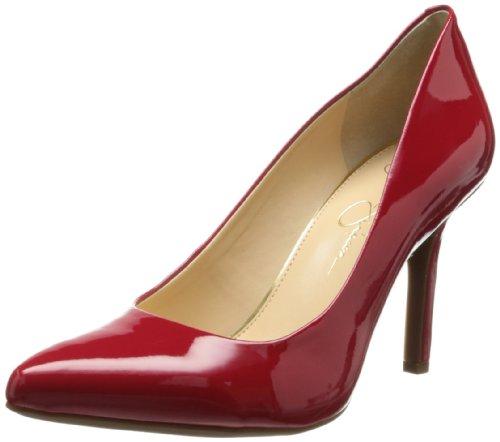 Jessica Simpson Mujeres Apple Dorsay Pump Lipstick Red