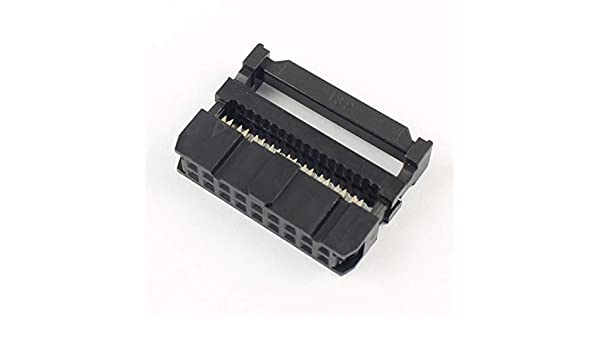 50Pcs 2.54mm Pitch 2x9 Pin 18 Pin IDC Female Header Socket Connector