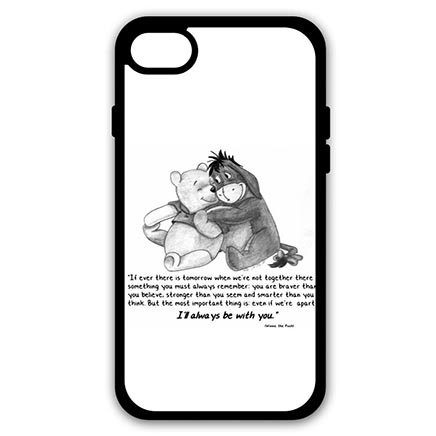 Protective Shell Girly iPhone 7 - 4.7 inch Case Cover - Winnie the Pooh Eeyore (Eeyore Character)