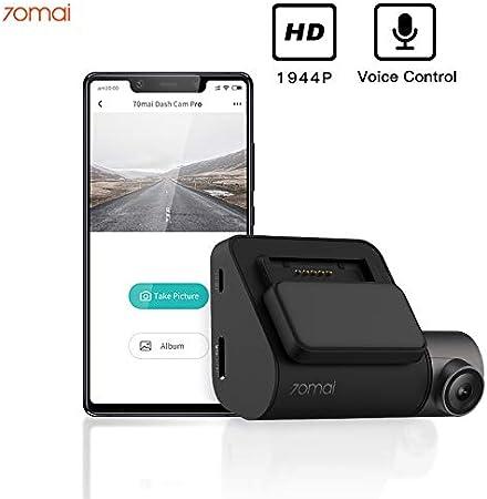 70mai Smart Dash CAM Pro Cámara de Coche Grabadora de Vídeo FHD 1944P Visión Nocturna G-Sensor DVR Automóvil ADAS CAM Monitoreo de Estacionamiento (Sin GPS)