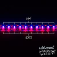 CableMod WideBeam Hybrid LED Strip (30cm, UV)
