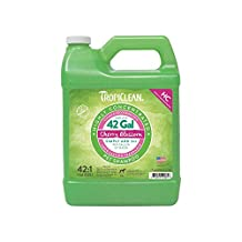 COSMOS 202658 Tropiclean High Concentrate Shampoo 42 to 1 Cherry Blossom 1 Gallon Jug