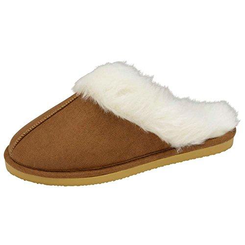 De Estar Para Dunlop Mujer Por Zapatillas Casa Castaño WO15xxq8w4