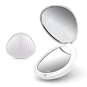 Amazon Com Tresutopia Led Compact Mirror Folding Travel
