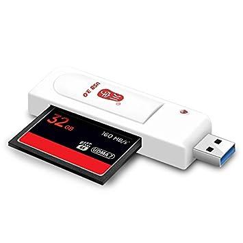ROUHO C301 USB 3.0 De Alta Velocidad Compactflash CF Lector ...