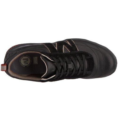 Merrell Scalar J44203 - Zapatillas de cuero para hombre Negro