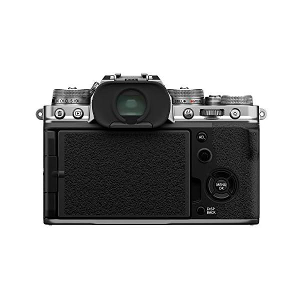 RetinaPix Fujifilm X-T4 Mirrorless Digital Camera (with 18-55mm Lens, Silver)