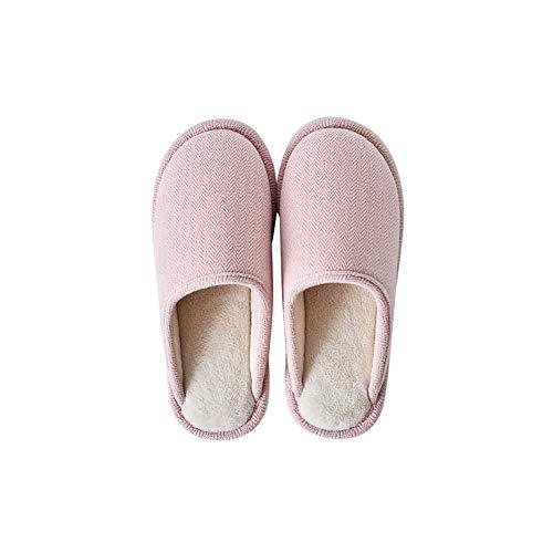 Fond Non Cheveux Hiver Au Et Chaud Machine slip Pink S'ennuyer À Maison Pantoufles Corail Lavabl Non Épais Contenant Coton Chaussures Femme Automne En Polaire La Intérieur Respirant Garder wXqIvZUO