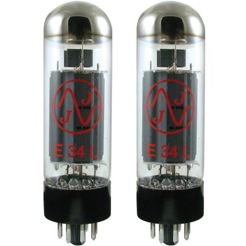 JJ Electronics T-E34L-JJ-MP Vacuum Tube Pentode Matched Pair 25w Tube Guitar