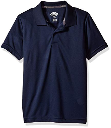 Dickies Kids Boys' Big Youth Performance Polo, Night Navy, Small