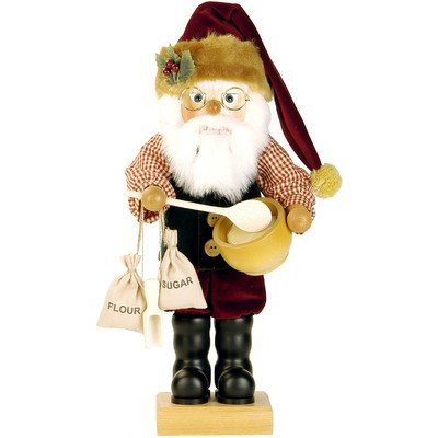 0-446 - Christian Ulbricht Nutcracker - Mr. Claus - Ltd Edition 1000 pcs - 18''''H x 8.5''''W x 8.5''''D