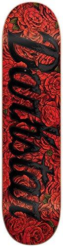 Darkstar 10012525 Roses Skateboard Deck, 8.125, Red