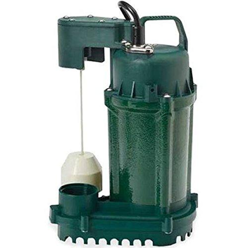 Zoeller 73-0001 Model M73 Dewatering Pump 0.33 HP 115V 1PH 9' Cord Auto