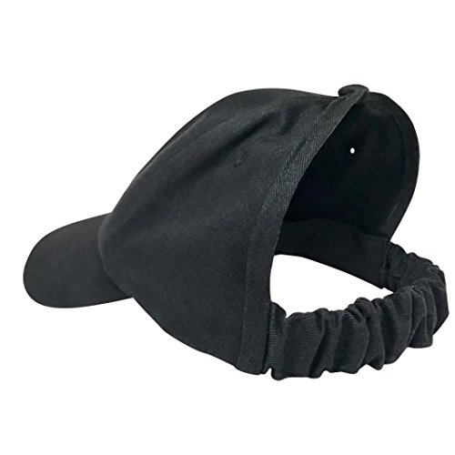 - XILALU New Fashion Women Ponytail Hole Cap,Adjustable Solid Baseball Sport Hip-Hop Dacing Sun Hat Shade