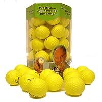 Paquete de recambio de pelota de práctica de casi 36 golf - Amarillo