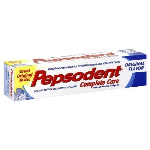 (Pepsodent Complete Care Toothpaste Original Flavor 5.5 oz (Pack of 3))