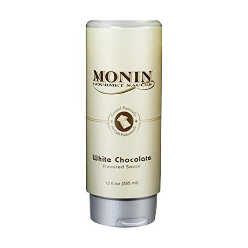 Monin White Chocolate Sauce Retail Monin White Chocolate Sauce