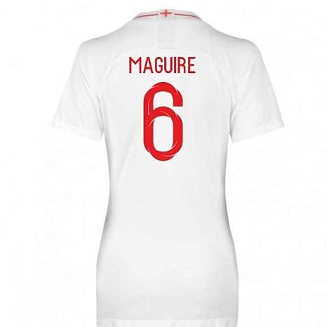 2018 2019 England Home Nike Womens Football Soccer T Shirt