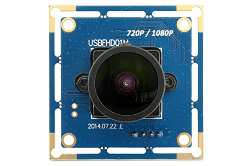 (SVPRO Webcam Wide angle 170 degree Fisheye Lens Camera USB Full HD 1080P 30fps Web Camera for Linux/Windows/android (170 degree megapixel fisheye lens))