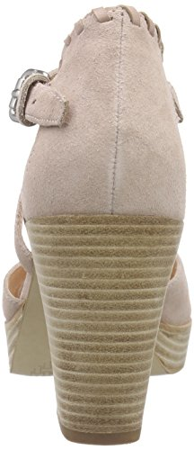 Marc O'Polo High Heel Sandal, Women's Platform Sandals Beige - Beige (Nude 304)