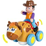 Best Choice Products Kids Toy Cowboy Bullfighter Bump and Go Action, Music and Tons of Fun Adjustable Volume