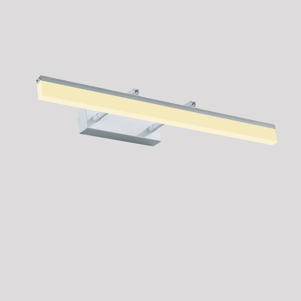 &Spiegelleuchte Spiegel-Licht-Badezimmer-Badezimmer-Kabinett-Licht LED-Verfassungs-Licht-moderne unbedeutende Hauptwasserdichte Anti-Fog-Spiegel-Lichter (Farbe   weißes Licht-7W 35cm)