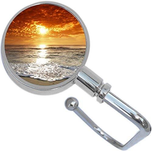 Amazon.com: Arena de la playa Sunset Ocean plegable cartera ...