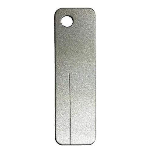 Mini Pocket Stone - SM SunniMix Portable Sharpening Stones Pocket Sized Mini Diamond Sharpener 400 Grits