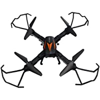 Owill Florld F12W Wifi 2MP Camera Foldable 4-Axis 2.4G Drone RC Quadcopter Headless Mode (Black)