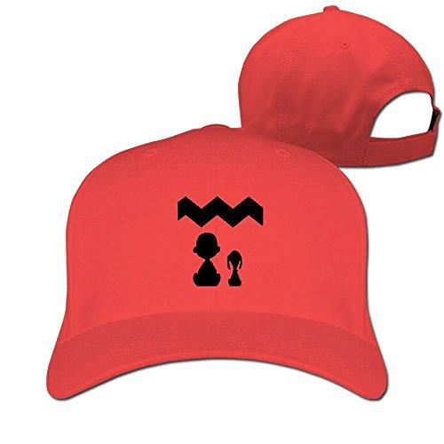 Gaosus Unisex Duck Tongue Hat Snoopy Charlie Brown Adjustable Baseball Caps (Womens Hat Charlie Adjustable)