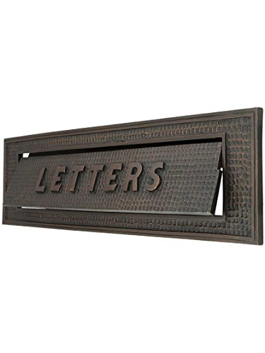 Large Bungalow Mail Slot with