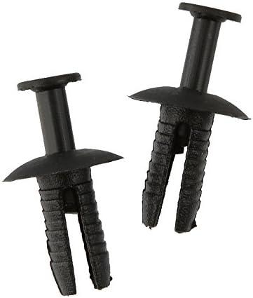 CUHAWUDBA 30 Pcs en Plastique Pare-Chocs de Montage Rivet Corps Garniture Clip pour E30 E36 E46 E39 E38