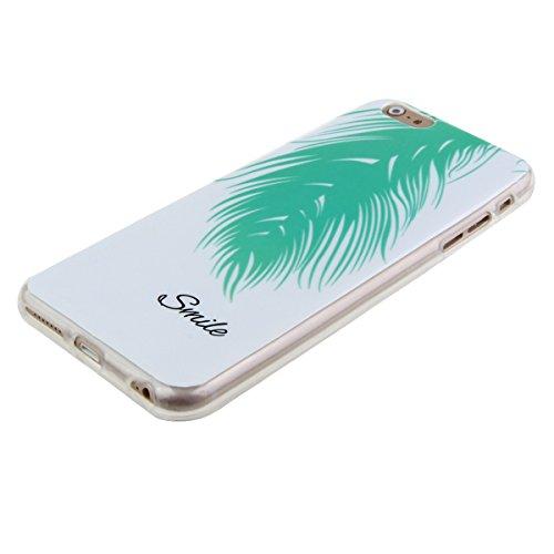 Apple iphone 6s plus Schutzhülle Motiv, Ekakashop Ultradünnen Weiche TPU Silikon Crystal Klar Kratzfeste Transparent Handytasche Handyhüllen Zurück Case für iphone 6 plus, Ultra Slim Durchsichtig mit