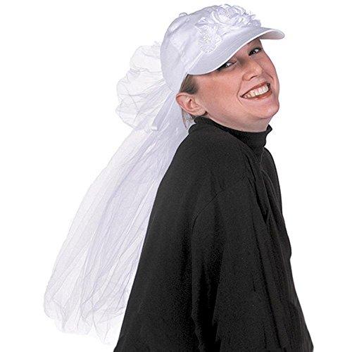 Adult's Bride Baseball Halloween Costume Cap
