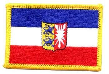 Flaggen Aufnaher Patch Schleswig Holstein Wappen Neu Amazon De