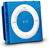 Latest Generation Apple Blue iPod Shuffle Waterproofed by AudioFlood