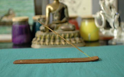 Nag Champa Traditional Handmade Incense Holder to Enhance your Yoga, Meditation, Aromatherapy and Relaxation Experience (Incense Holder)