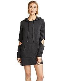 Womens Hoodie Sweatshirt Dress