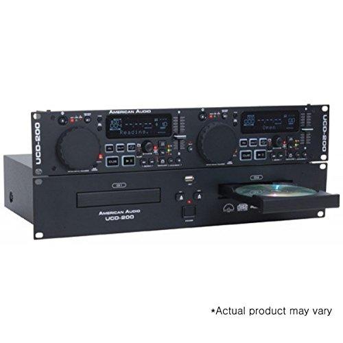 American Audio UCD200 MKII | 19 inch Rackmount Dual CD MP...