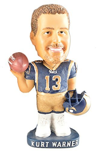 Kurt Warner Football Official License Bobble Head Hand-painted Ceramic Doll