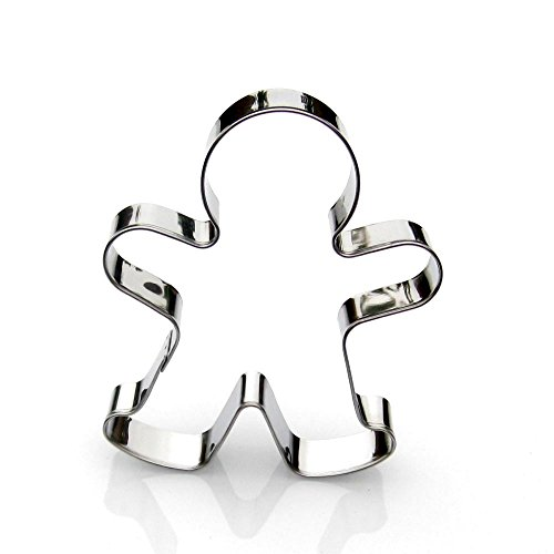 - Gingerbread Man Cookie Cutter- Stainless Steel