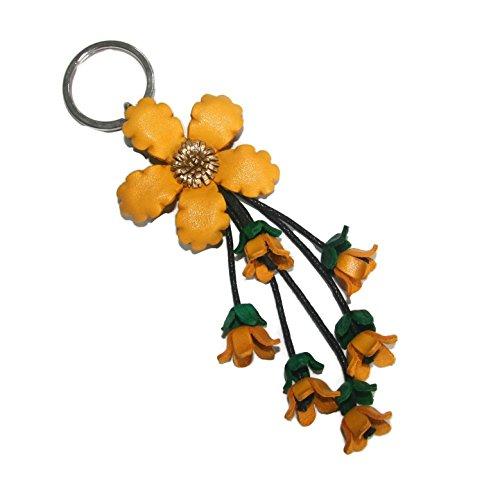 bella-pazzo-yellow-handmade-anemone-flower-leather-keychain-key-ring-clasp-bag-charm-handbag-purse-c