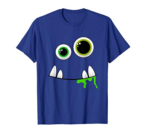 Cute Group Costume Ideas (Cute Monster Face Halloween Group Costume Gift)