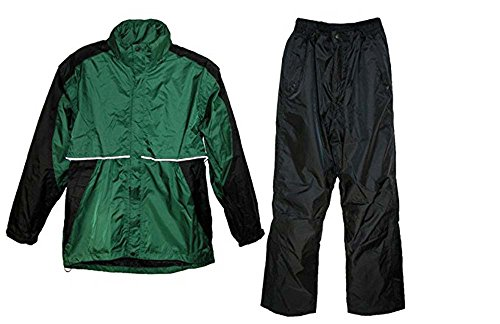 Shedrain Mens Two Tone Pant and Jacket Golf Rain Suit, Me...